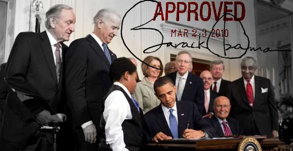 Obama signs health care reform legislation