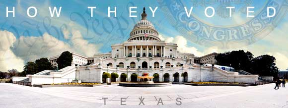 How Texas Congressional delegations voted on health care legislation